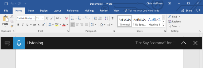 How to Use Voice Dictation on Windows 10