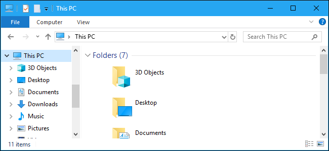 How to Remove \u201c3D Objects\u201d From This PC on Windows 10