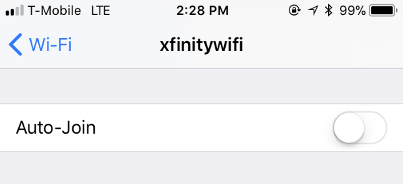 How to Stop Your iPhone or iPad From Automatically Connecting to a Wi-Fi Network