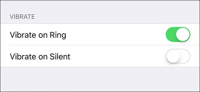 How do i make my iphone 7 vibrate on silent