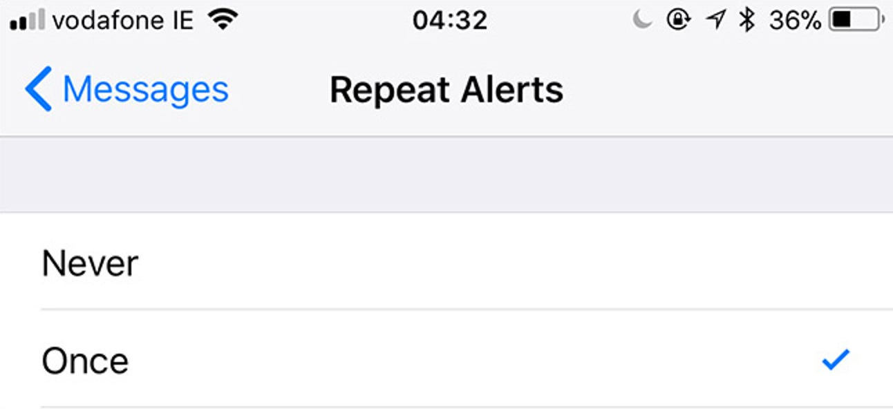 How to Stop Your iPhone From Dinging Twice When You Get Text Messages