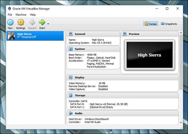 Install macOS High Sierra in VirtualBox on Windows 10 | Web Design