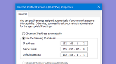 How to Assign a Static IP Address in Windows 7, 8, 10, XP, or Vista