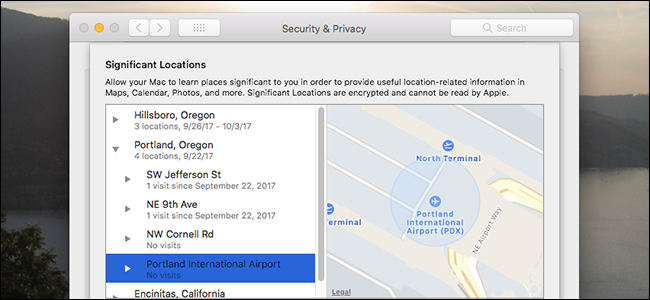 Your Mac Is Tracking Your Location in High Sierra, Here's