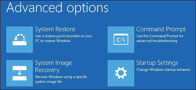 windows 10 recovery load drivers