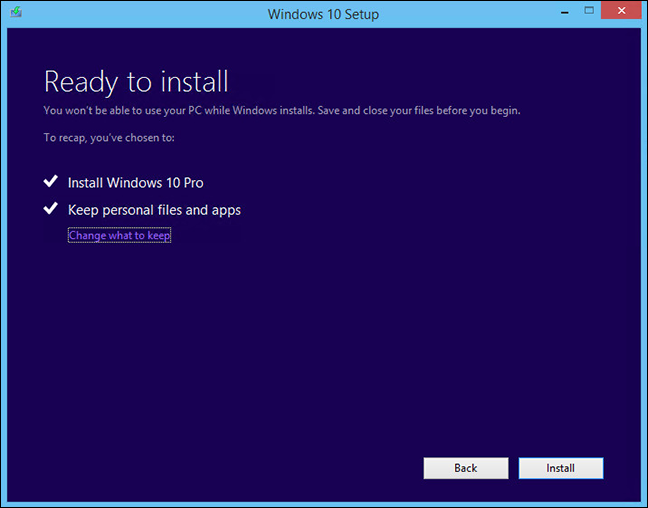 transfer files from windows 8.1 to windows 10