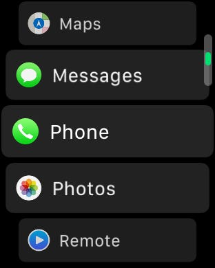 How to Change the App Layout on the Apple Watch to a List