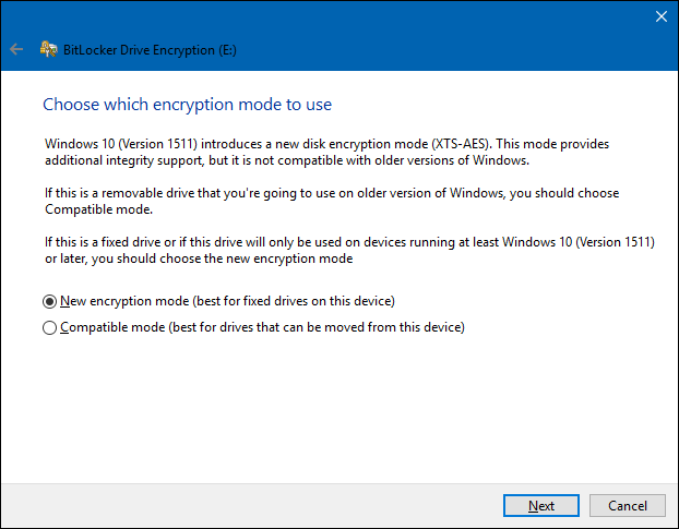how to set up a new drive in windows 10
