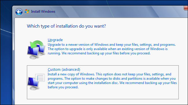 upgrade from windows 7 to windows 10 with disk