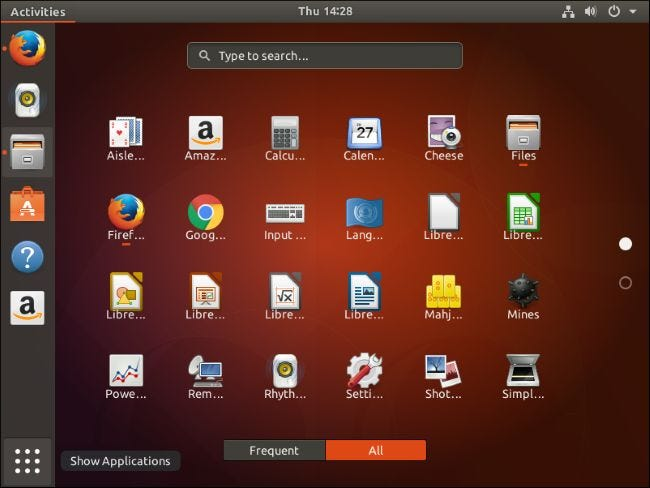 ubuntu how to add website to application launch