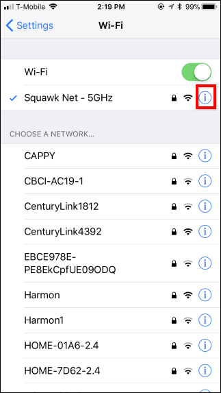 how to connect ipad to wifi network