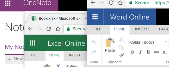 What's the Difference Between Microsoft Office's Desktop, Web, and Mobile Apps?