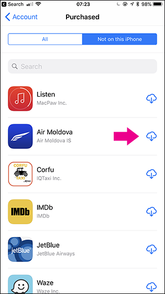 How to See All the Apps You've Ever Downloaded on Your