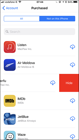 How to See All the Apps You've Ever Downloaded on Your iPhone or iPad