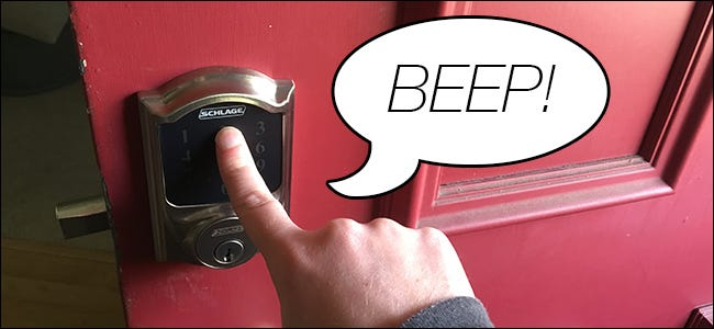 How to Disable the Beeper on the Schlage Connect Smart Lock