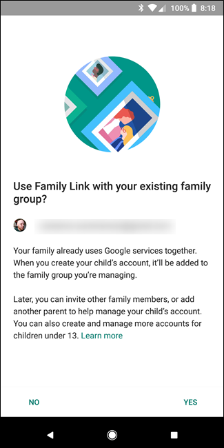 how can i create a google account for my child