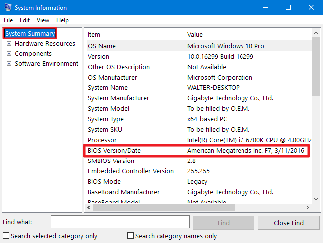 How to Check Your BIOS Version and Update it