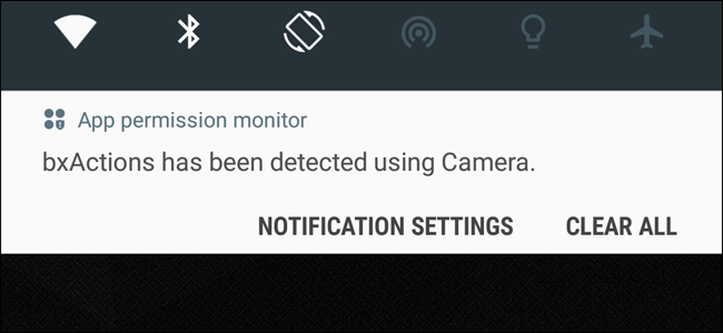 How to Stop Samsung's App Permission Monitor From Displaying