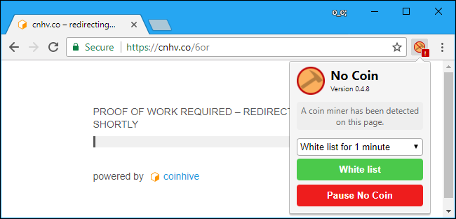mining cryptocurrency with browser