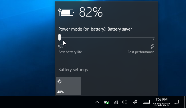 "How to Use and Configure Windows 10's ""Battery Saver"" Mode"