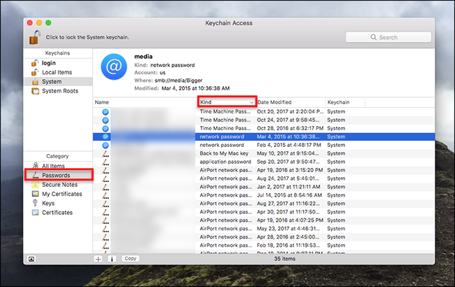 How to Manage All Your Mac's Saved Passwords With Keychain