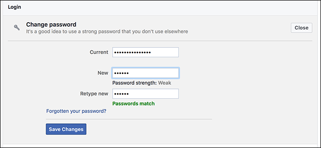 How to know your facebook password without changing it