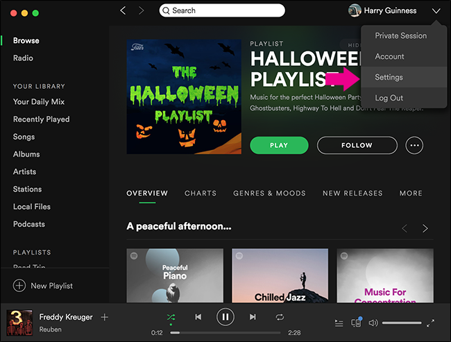 how to delete all songs spotify