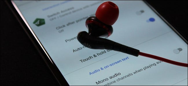 """How to Switch Your Android Phone to """"Mono"""" (So You Can Wear One Earbud)"""