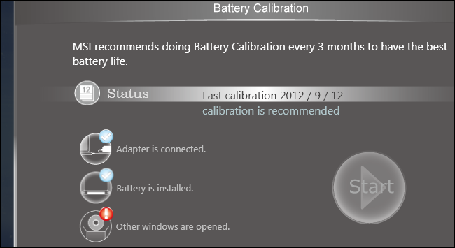 MSI NOTEBOOK BATTERY CALIBRATION DRIVERS FOR WINDOWS XP