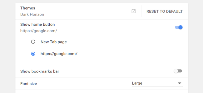 how to change new tab page chrome mac