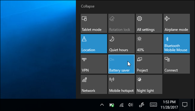 How to Use and Configure Windows 10\u0027s \u201cBattery Saver\u201d Mode