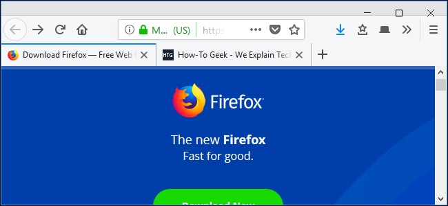 Firefox Quantum Home Pages