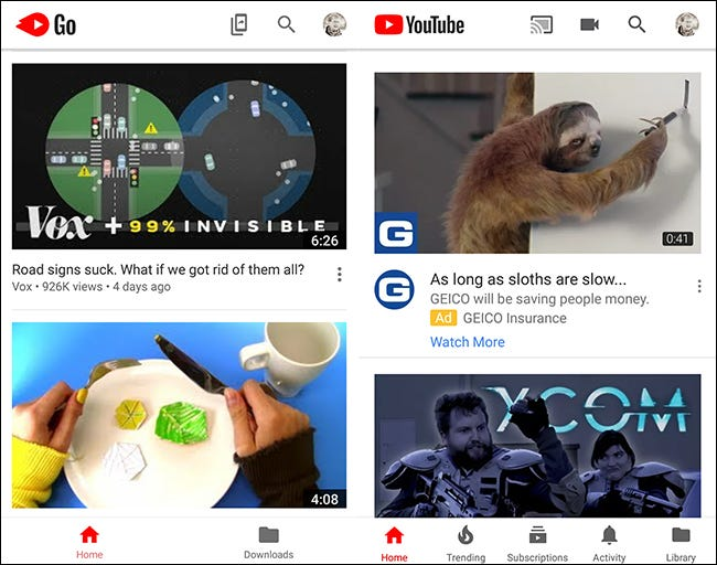how to get youtube app