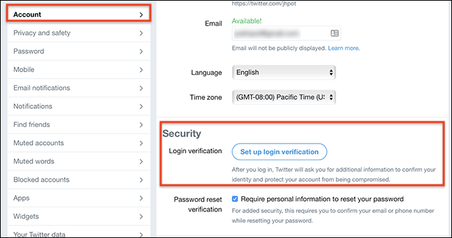 How to Secure Your Twitter Account (Even if Your Password is