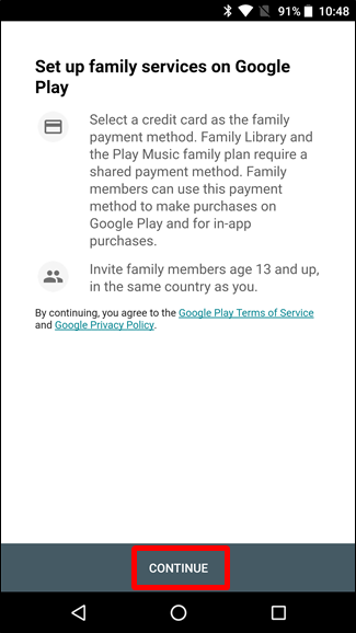 How to Set Up Google Family to Share Your Google Services