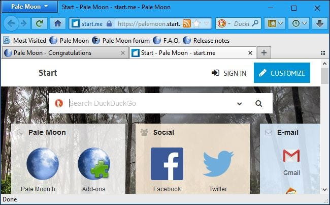 Why You Shouldn't Use Firefox Forks Like Waterfox, Pale Moon, or