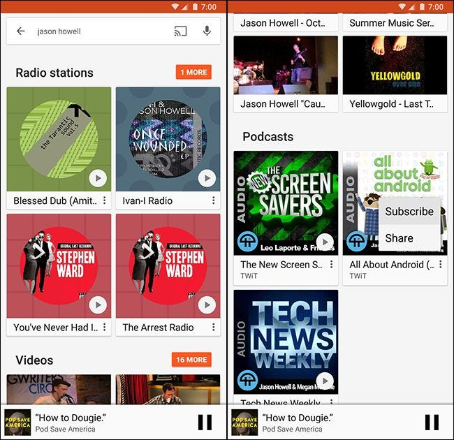 How to Manage Podcasts in Google Play Music