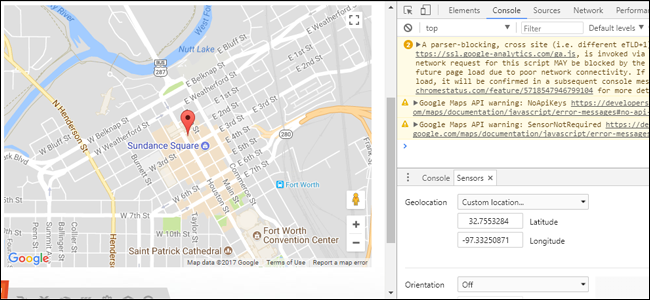 How to Manually Set Your Location in Google Chrome