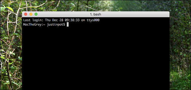 Instantly Open a Full Screen Terminal On Your Mac Using a