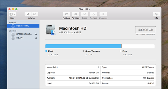 How to Use Your Mac's Disk Utility to Partition, Wipe