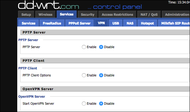 How to set up your own home vpn server option two get a router that supports dd wrt or other third party firmware fandeluxe Images