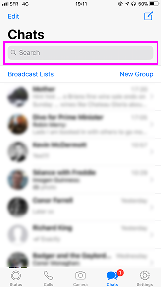 How to Search WhatsApp Chat Messages   BARNICOZ BLOG