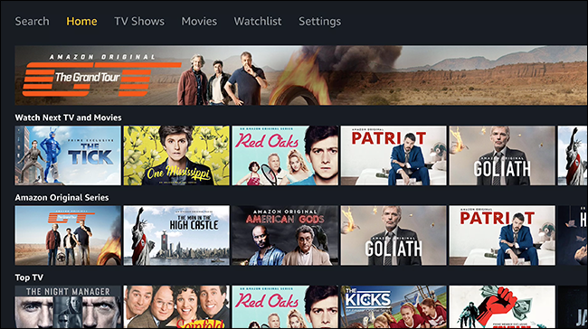 Amazon Prime Video finally lands on the Apple TV