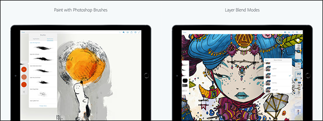 What Are the Photoshop Express, Fix, Mix, and Sketch Mobile