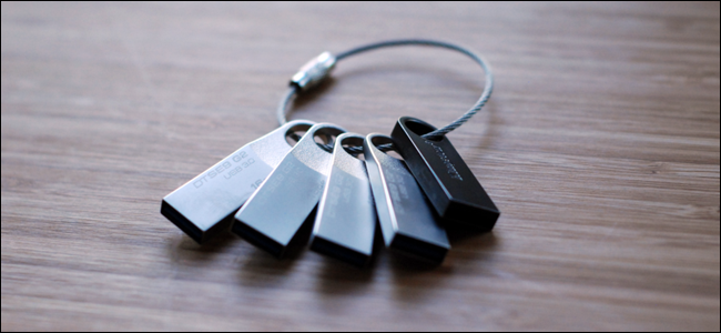 How to Create the Ultimate USB Key Ring to Solve Any
