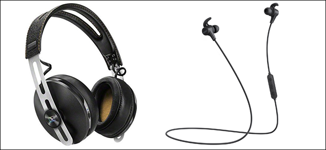 7b6a9f08956 Left: Sennheiser HD1 Wireless, $340. Right: Aukey Latitude, $26. Both  support aptX Bluetooth. Neat!