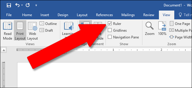 How to use rulers in microsoft word note the horizontal ruler is also visible in web layout and draft view the vertical ruler is not ccuart Image collections