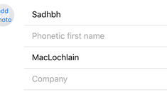 How to Add Phonetic Names to Contacts on the iPhone