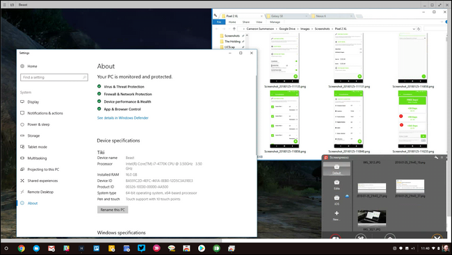 download exe files on chromebook