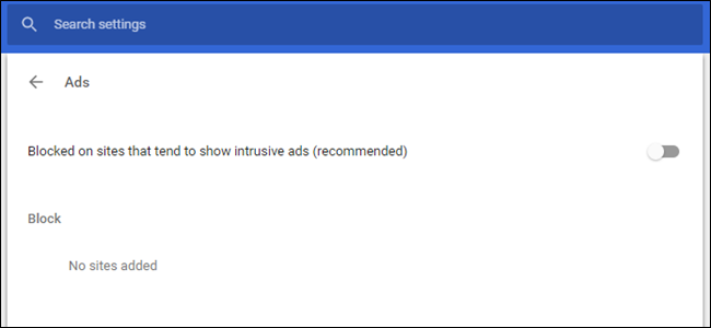 How to Disable Chrome's New Ad Blocker (On Certain Sites or All Sites)